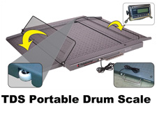 TDS Portable Drum Scale