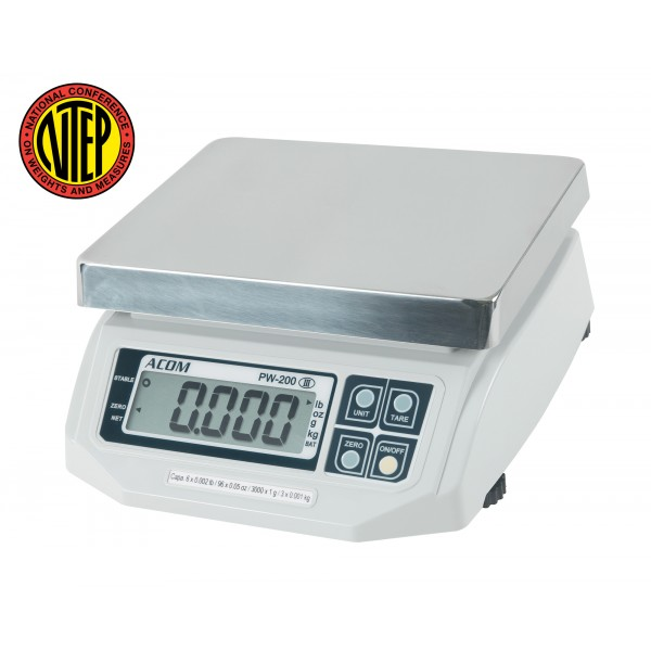PW-200 ACOM Portion Scale