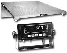 Heavy Duty Floor Scale Base